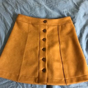Forever 21 suede skirt xsmall